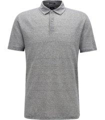 boss men's t-perkins 14 linen polo shirt