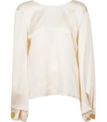 forte forte loose fit blouse