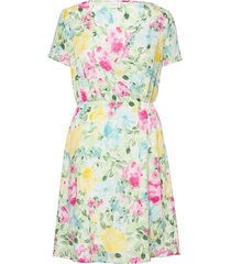 viadalina s/s wrap dress dresses everyday dresses grön vila