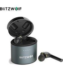 audifonos blitzwolf® bw-fye8 tws bluetooth 5.0 control táctil auriculares manos libres - negro