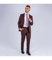 traje formal linea europa para hombre pierre d'agostiny vinotinto