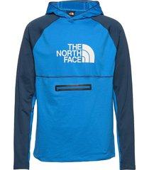 m varuna hd hoodie trui blauw the north face