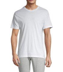 hurley men's boxed logo t-shirt - white - size m
