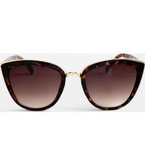chauncie cat-eye sunglasses - tortoise