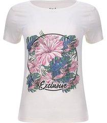 camiseta exclusive color blanco, talla 8