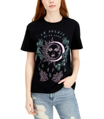 self esteem juniors' le soleil-graphic oversized t-shirt
