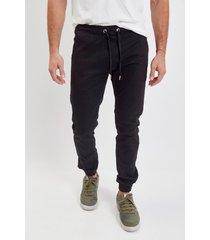 pantalón negro el genovés jogger