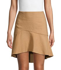 steffie asymmetrical skirt