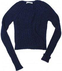 sweter dopasowany w prążek
