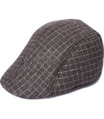 cappello a forma di caldo casuale del parasole con il berretto di feltro a righe di lattice