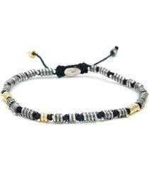 black templar beaded bracelet