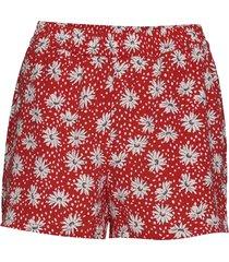 onlnova lux shorts aop wvn 9 shorts flowy shorts/casual shorts röd only