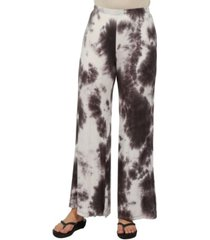 24seven comfort apparel women comfortable brown palazzo pants
