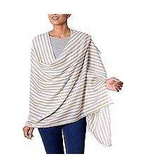 wool shawl, 'subtle warmth' (india)