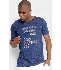 camiseta handbook estampada masculina