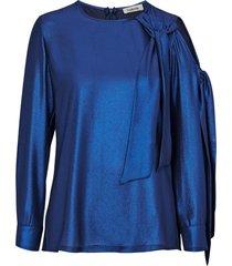blus bow blouse