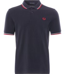 fred perry m3600 polo shirt | navy | m3600-471