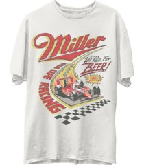 junk food men's miller racing short sleeve tee shirt