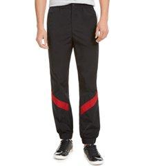 guess men's colorblocked tech pants
