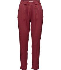 pants w. fold-up hem casual broek rood coster copenhagen