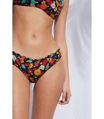 calzedonia swimsuit bottoms alessia woman black size 2