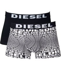 diesel boxershort damien 2pak zwart