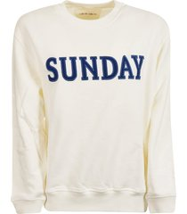 alberta ferretti embroidered jersey sweater