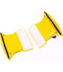 limpa vidro com im㣠magnã©tico super rodo - amarelo - dafiti