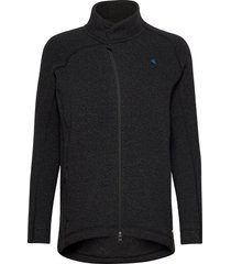 balder zip w's sweat-shirts & hoodies fleeces & midlayers svart klättermusen