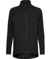 balder zip w's sweat-shirts & hoodies fleeces & midlayers svart klättermusen
