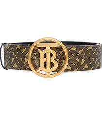 burberry tb monogramm belt circle 40
