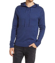 men's 1901 hooded pullover, size x-large - blue