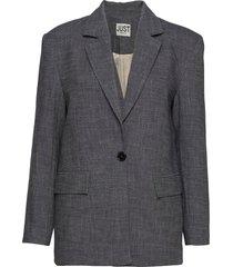 orlando blazer blazers casual blazers blå just female