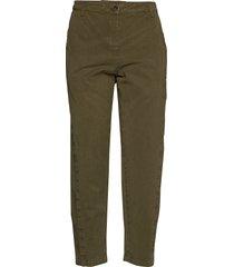 bao pantalon met rechte pijpen groen rabens sal r
