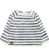sweater listado natural denim crudo ficcus