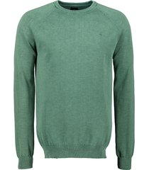 jac hensen pullover - modern fit - groen