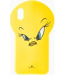 custodia per smartphone looney tunes titti, iphoneâ® xs max, giallo