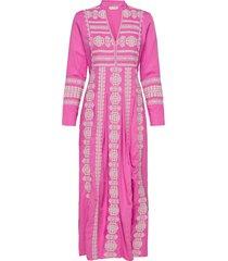 eloise long dress maxiklänning festklänning rosa odd molly