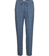 diablo pantalon met rechte pijpen blauw munthe