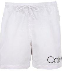 traje de baño medium drawstring blanco calvin klein