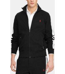 polo ralph lauren men's big & tall soft cotton track jacket
