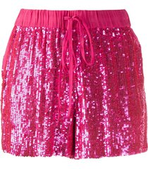 p.a.r.o.s.h. sequin shorts - pink
