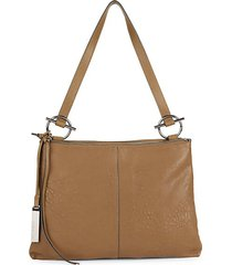 jasmine leather shoulder bag