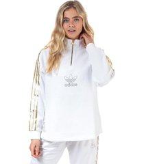 womens quarter zip sweatshirt