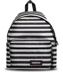 eastpak padded ek620 backpack unisex adult and guys white black