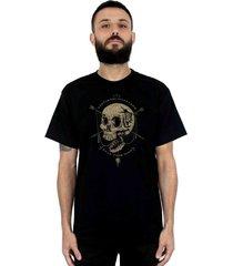 camiseta ventura open your mind preto - preto - masculino - dafiti