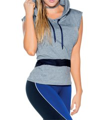 camiseta adulto femenino gris marketing personal 82903
