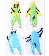 animal parrot costume kigurumi cosplay onesie sleepwear unisex adult pajamas