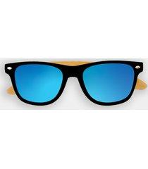 okulary przeciwsłoneczne z oprawkami okulary przeciwsłoneczne z oprawkami niebieskie (gładkie, bez nadruku)