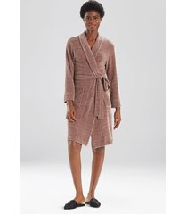 escape sleep/lounge/bath wrap/robe, women's, grey, size l, n natori
